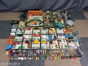 Ultimate Vintage Micro Machines Vehicle Travel City Set Playset Rare Part Lot City Travel Playset Micro Machines