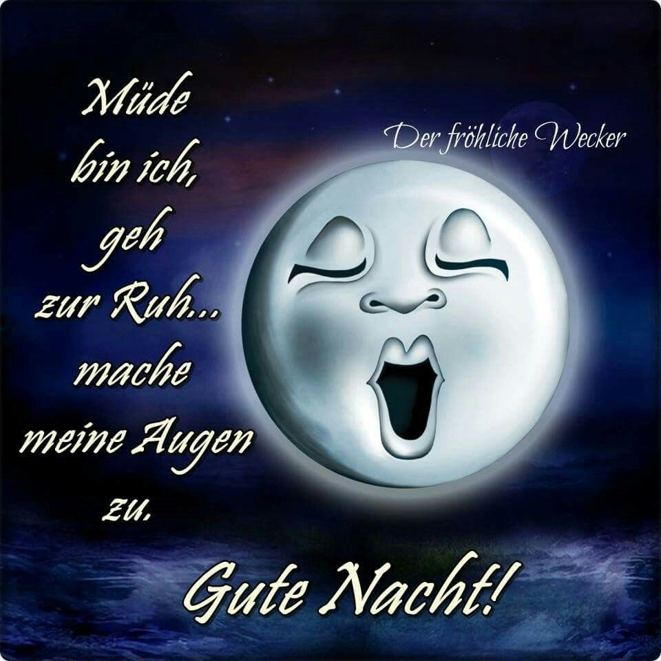 Pin von Giselle Deutsch auf Guten Abend/Gute Nacht | Gute