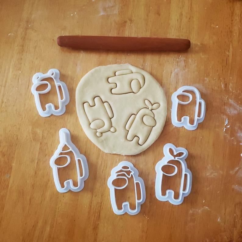 geek Among Us Cookie Cutter gamer present video game