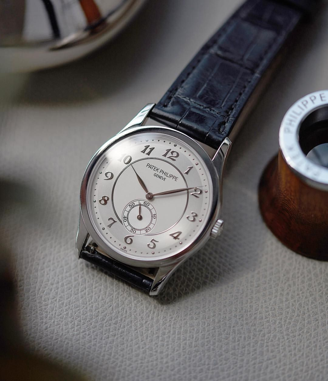 Available Now Patekphilippe S Two Tone Sector Dial 5196p