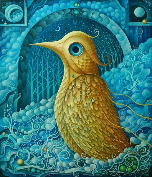 Golden Bird by FrodoK.deviantart.com on @DeviantArt