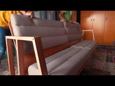 Decoesfera - Conocemos de primera mano el mobiliario versátil de UNAMO, como su sofá-cama-mesa