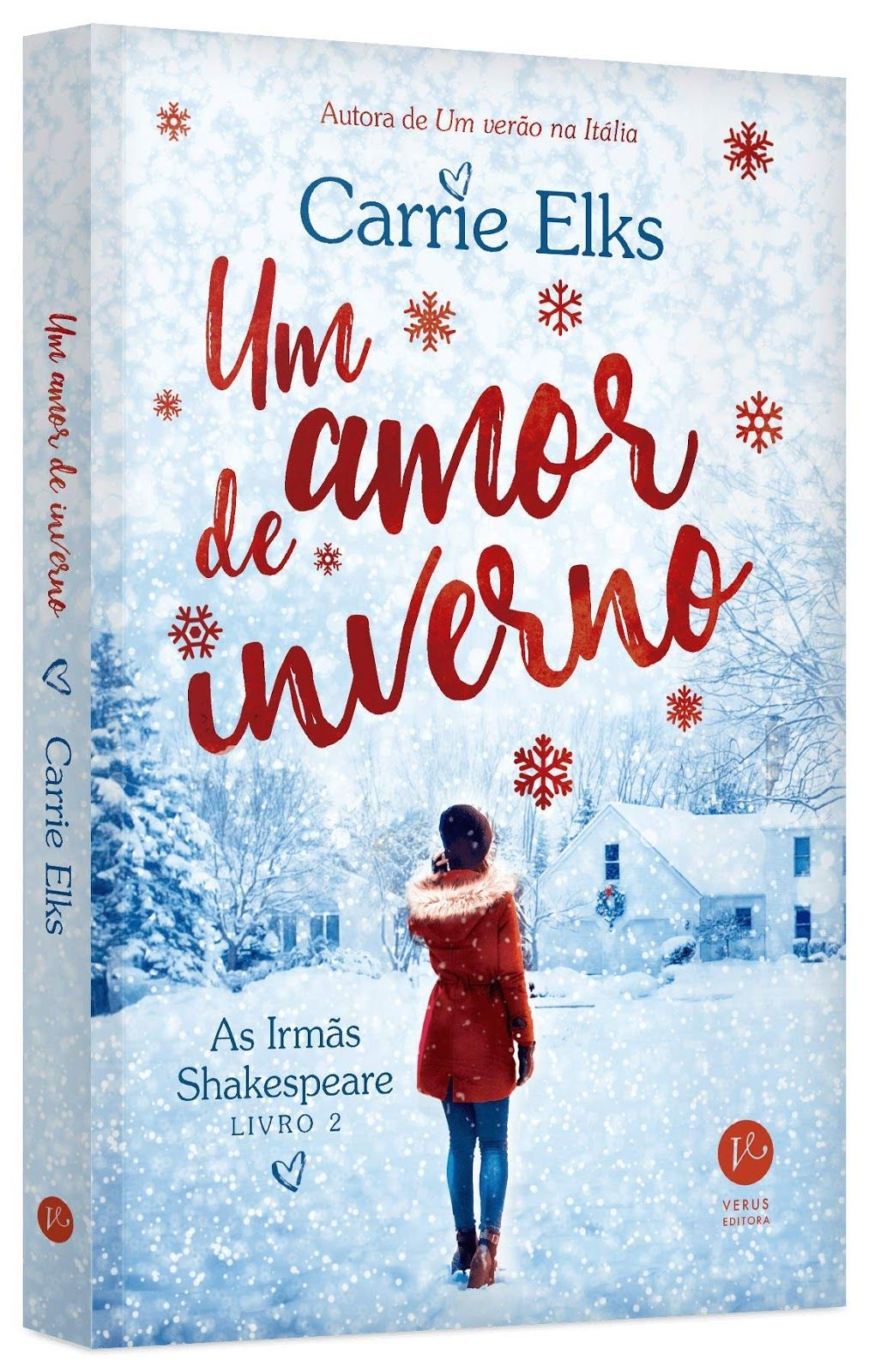 Editora Verus Lancara Em Marco Um Amor De Inverno Serie As Irmas