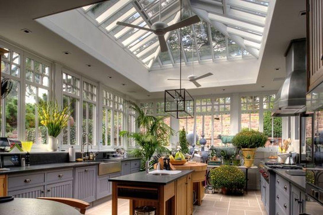 Küchenfenster ideen über spüle  stunning conservatory kitchen ideas  küche  pinterest