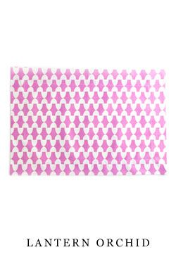 Cloth #placemat in Lantern Orchid | Hen House Linens