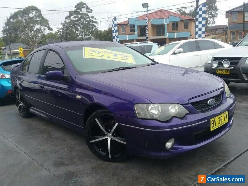 2003 Ford Falcon Ba Xr6 Purple Automatic 4sp A Sedan