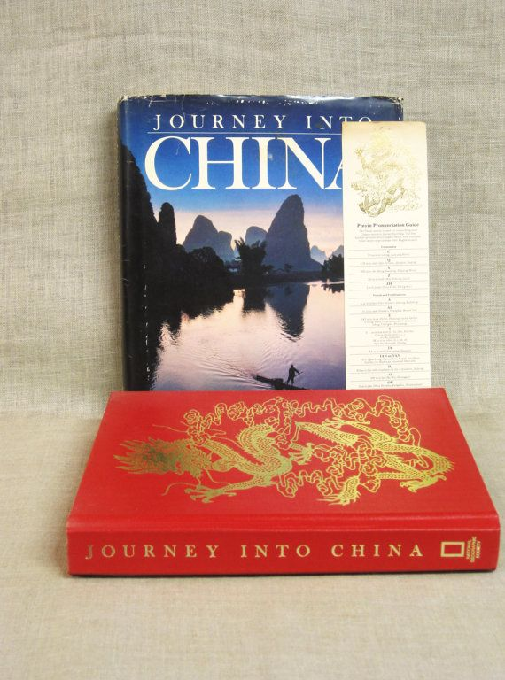 Vintage Hard Cover National Geographic Art Book, China, Asia, Photo