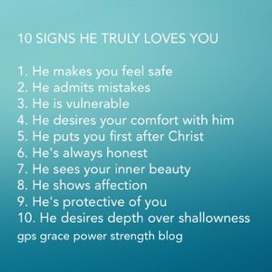 Signs When A Guy Loves You