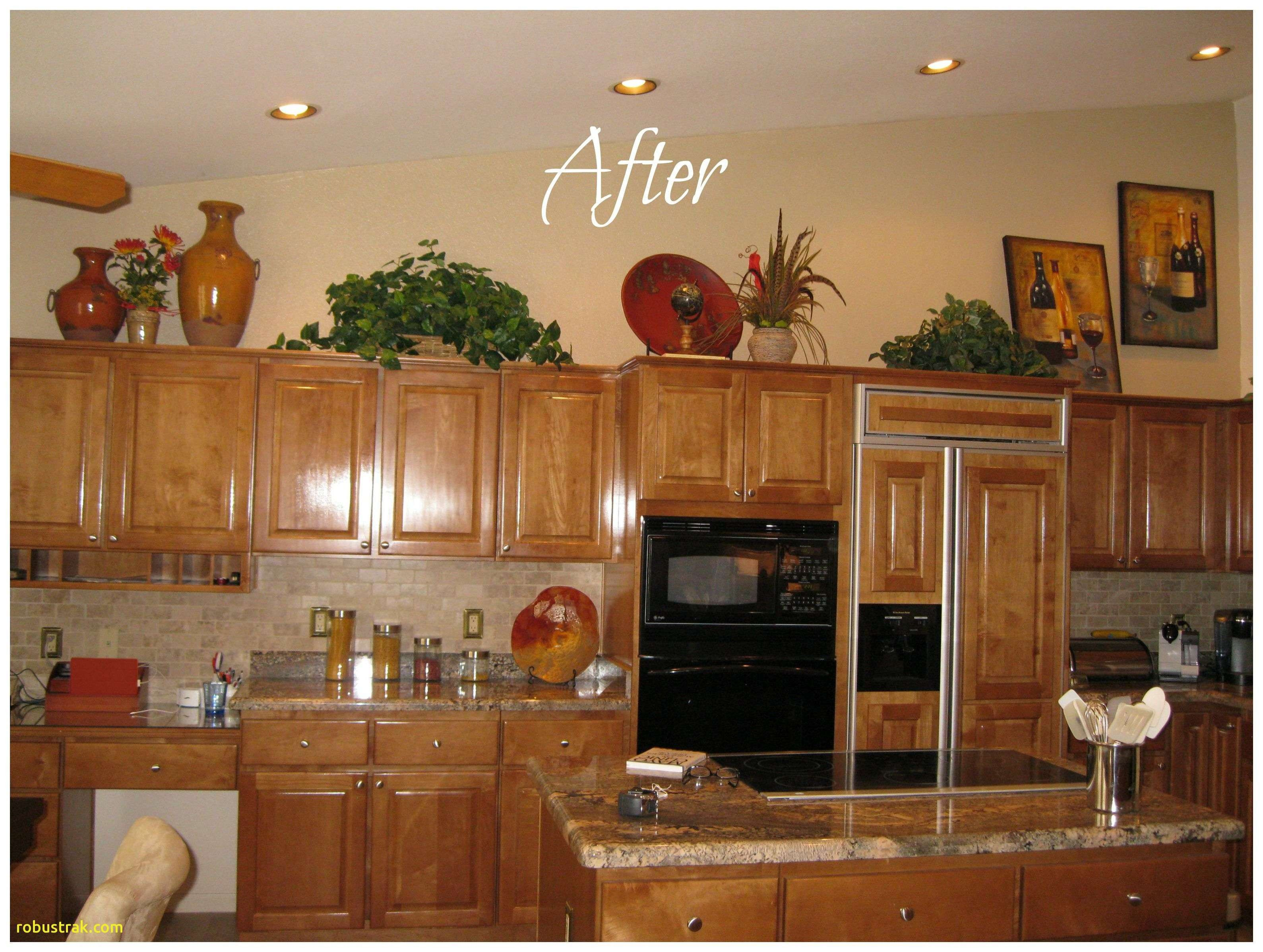 Awesome Decorating Ideas For Above Kitchen Cabinets The Most