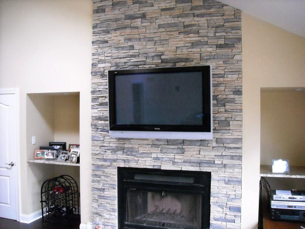 inspiration gas fireplace with stone surround. Amusing Stone Veneer For Fireplace Ideas Pictures Design Inspiration