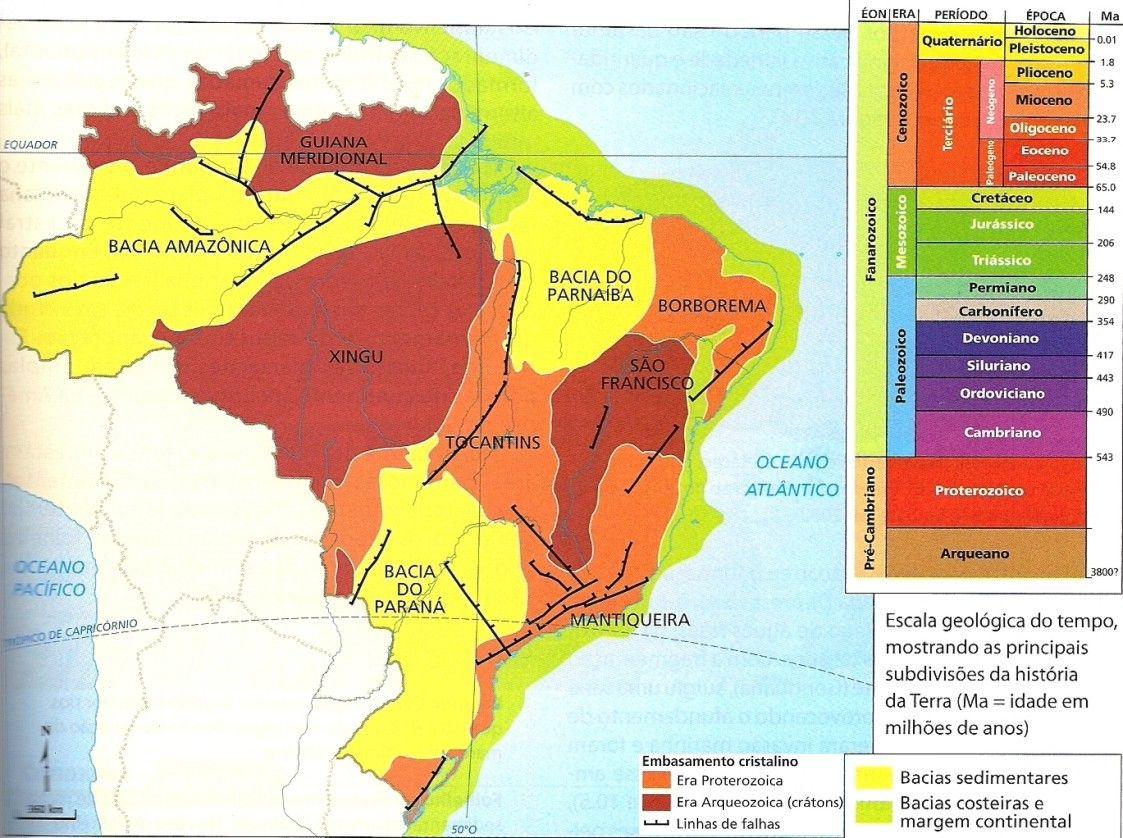 Resultado De Imagem Para Mapas Geologicos De Mato Grosso Do Sul