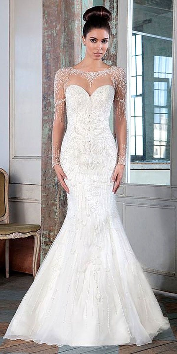 18 Mermaid Wedding Dresses From Top World Designers See More Http