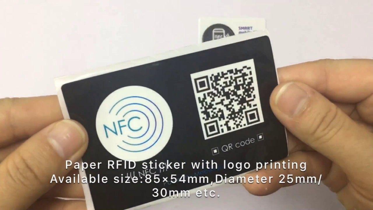 RFID Sticker with LOGO printing, custom size for logistics ...