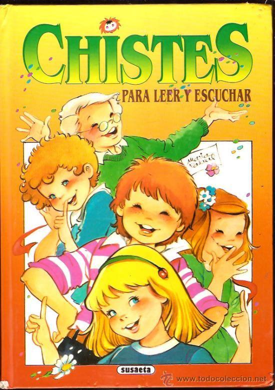 Chistes Para Leer Y Escuchar Portada Maria Pas 33428178 Libro De Chistes Chistes Chistes Infantiles