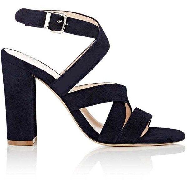Womens Suede Crisscross-Strap Sandals Barneys New York ZWVEMW