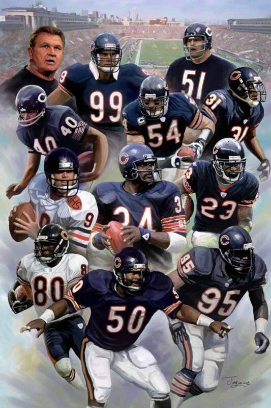 bears gridiron greats chicago bears