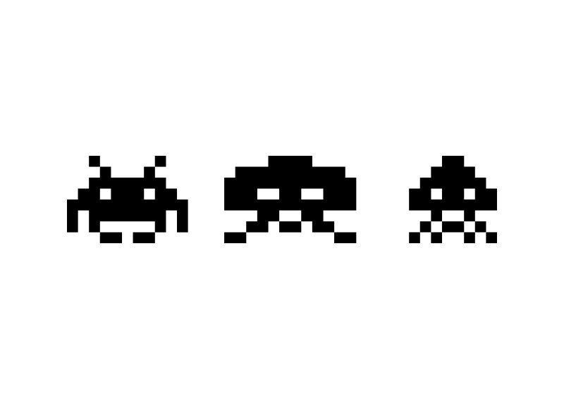 Space Invaders Vector Space Invaders Vector Free Vector Graphics