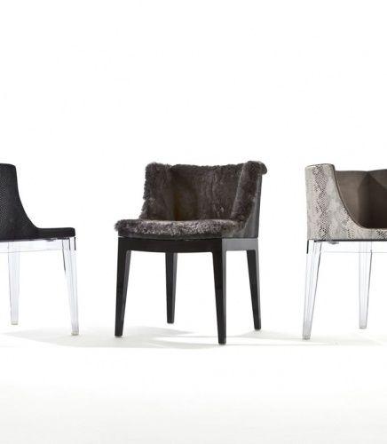 Philippe Starck S Missoni Fabric Mademoiselle Chair: Lenny Kravitz For Kartell
