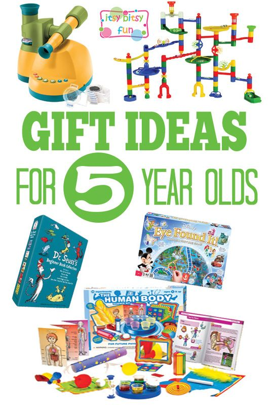 Gifts For 5 Year Olds