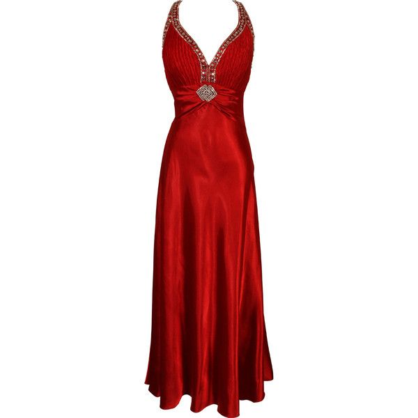 Twist Back Beaded Satin Formal Gown Junior Plus Size | Prom Long... (445 QAR) ❤ liked on Polyvore featuring dresses, gowns, gown, plus size formal gowns, plus size gowns, plus size prom gowns, plus size formal dresses and long prom dresses