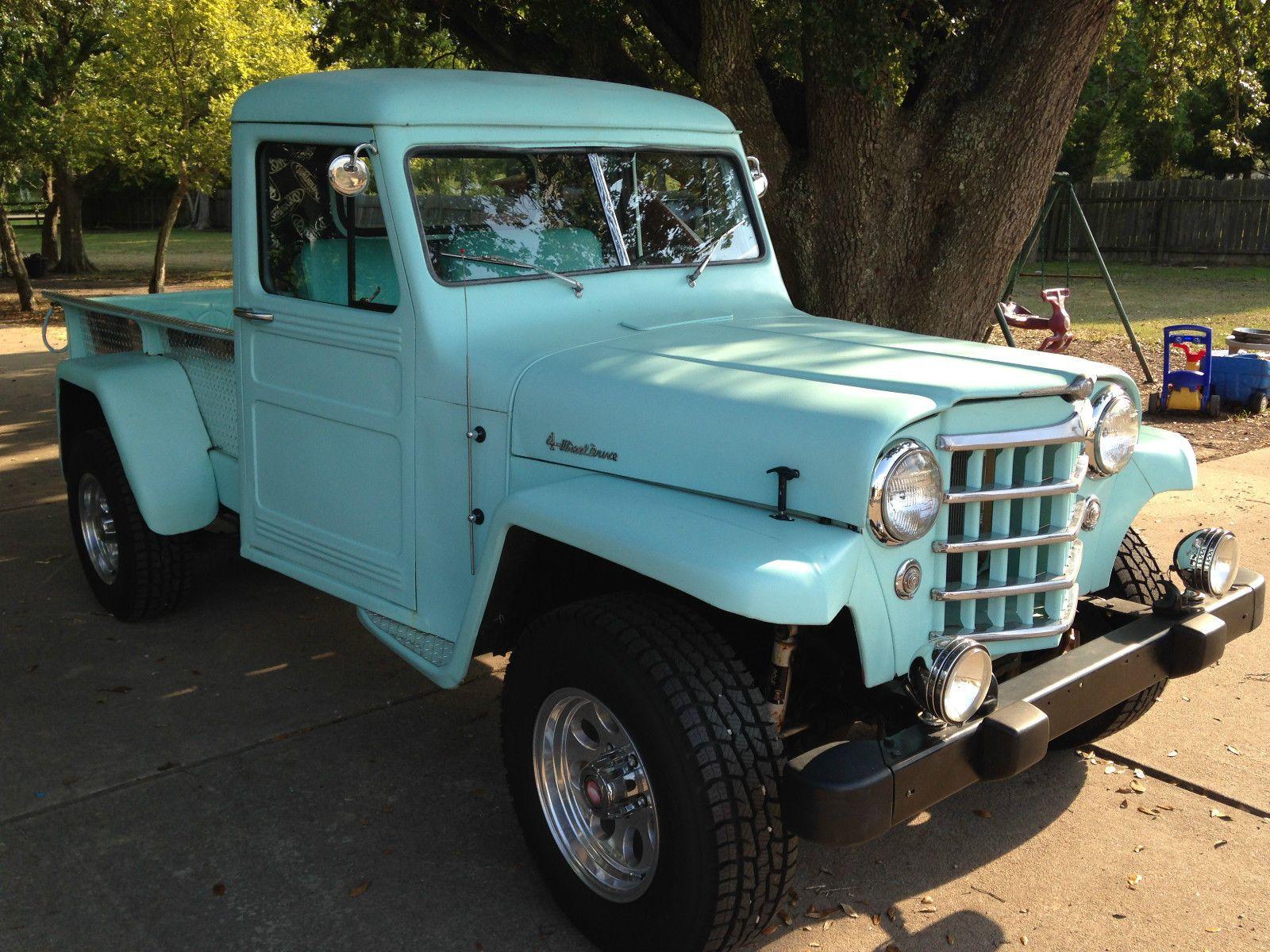 1952 Willys Truck Craigslist   Willys jeep, Dump trucks ...
