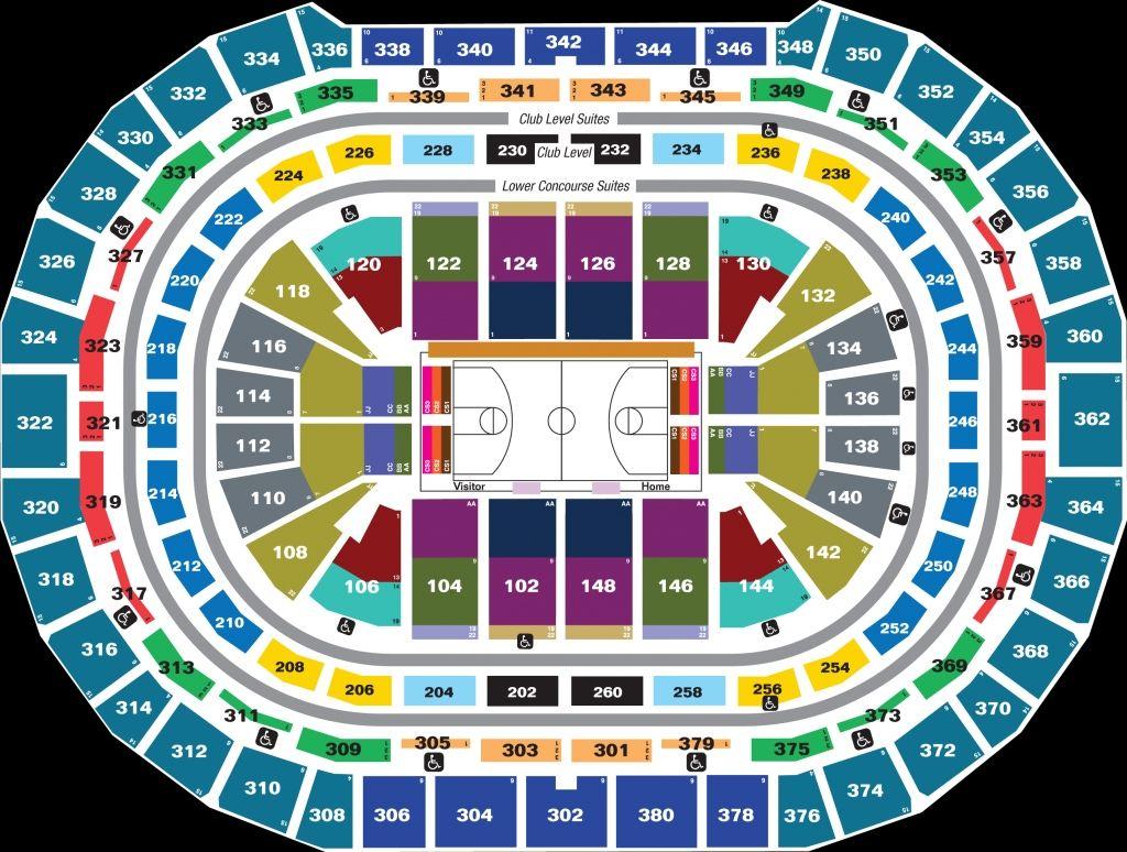 San Antonio Spurs Seating Chart
