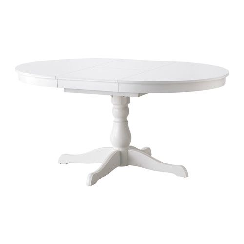 Ingatorp Extendable Table White Max Length 61 Ikea Dining Table Ikea Table Seating
