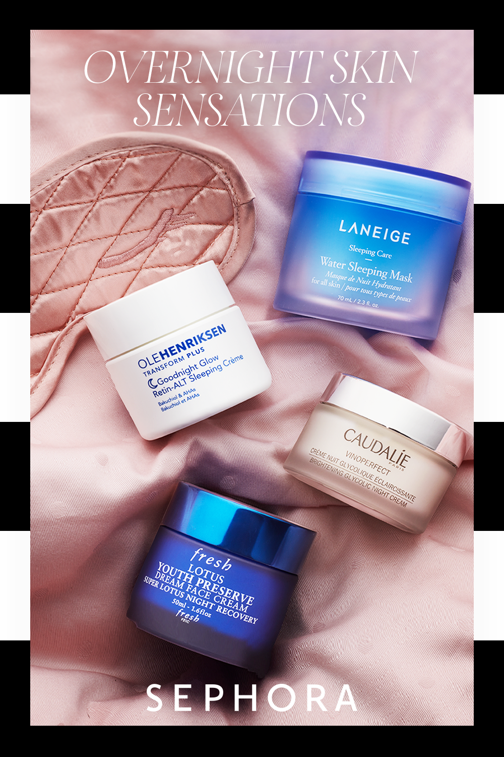 Shop Skincare Picks That Work The Night Shift At Sephora Tap The Pin Now To Learn More Overnight Skin Skin Care Better Skin