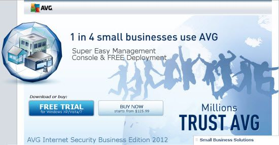 [Free download] 1 in 4 small businesses use AVG
