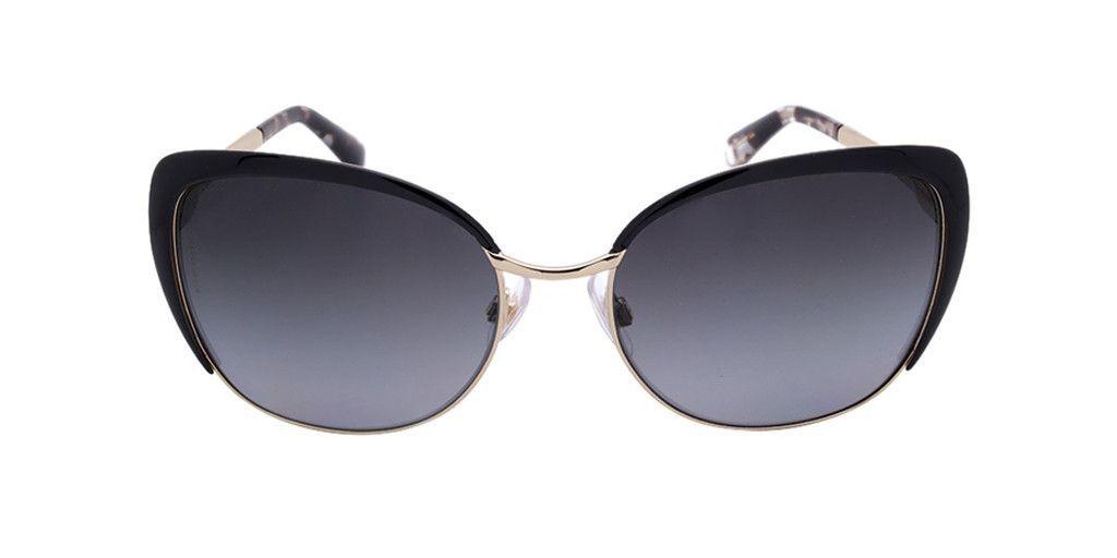 DOLCE & GABBANA DG2143 488/T3 57 Pale Gold Black / Grey Gradient Polarized