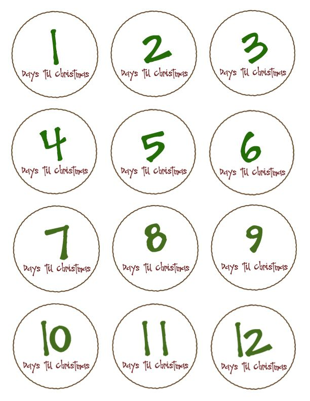 photograph regarding 12 Days of Christmas Printable Templates named Toad 12 Times Of Xmas My blog site
