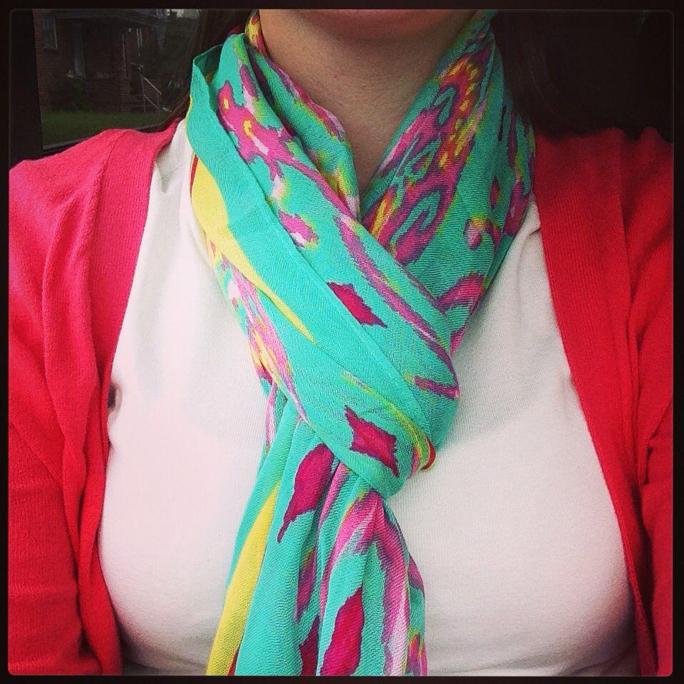My favorite scarf!!!  Stellaanddot.Com/erikaelkin