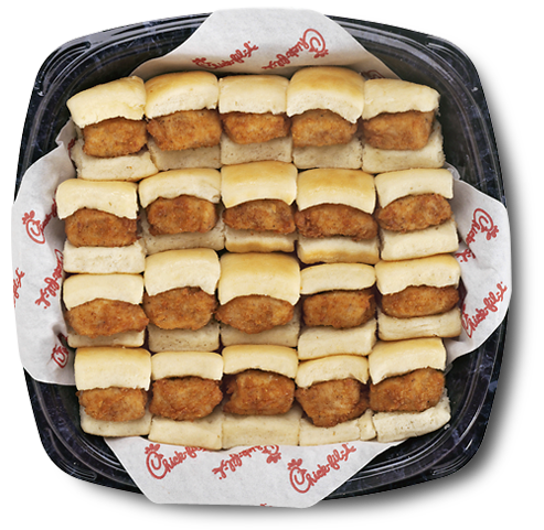 Chick Fil A Breakfast Tray Entrancing Chickfila's Breakfast Chicknminis Trayyour Office Will Love