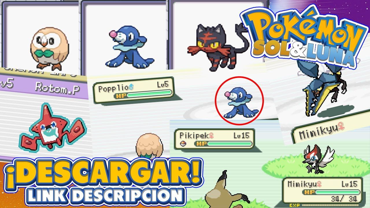 descargar pokemon oro para emulador gba android
