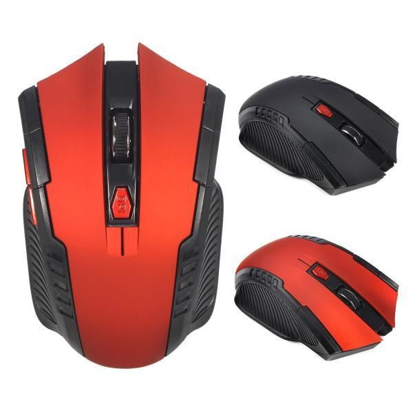 X20 2.4G Wireless 6 Buttons Adjustable 2400DPI Optical Gaming Mouse for Laptop