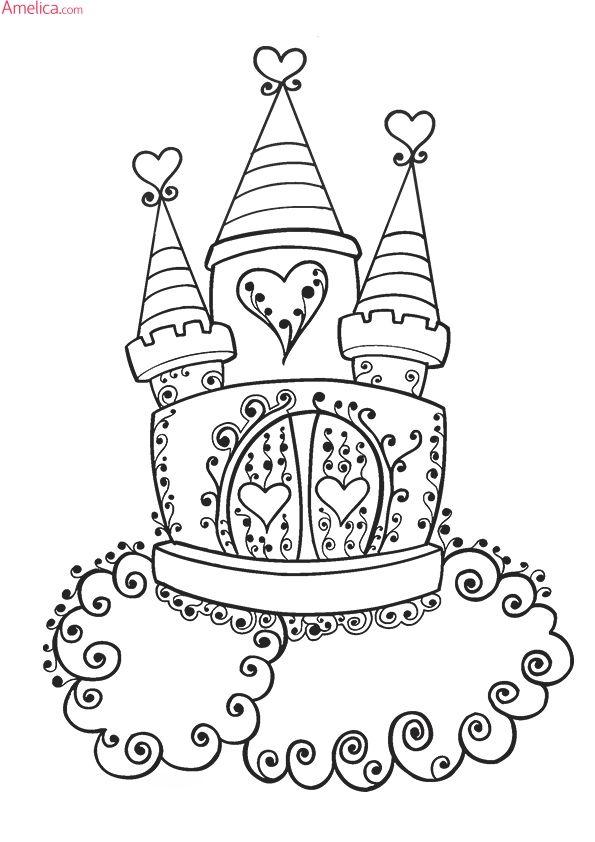 Красивые раскраски принцессы распечатать для девочек ...