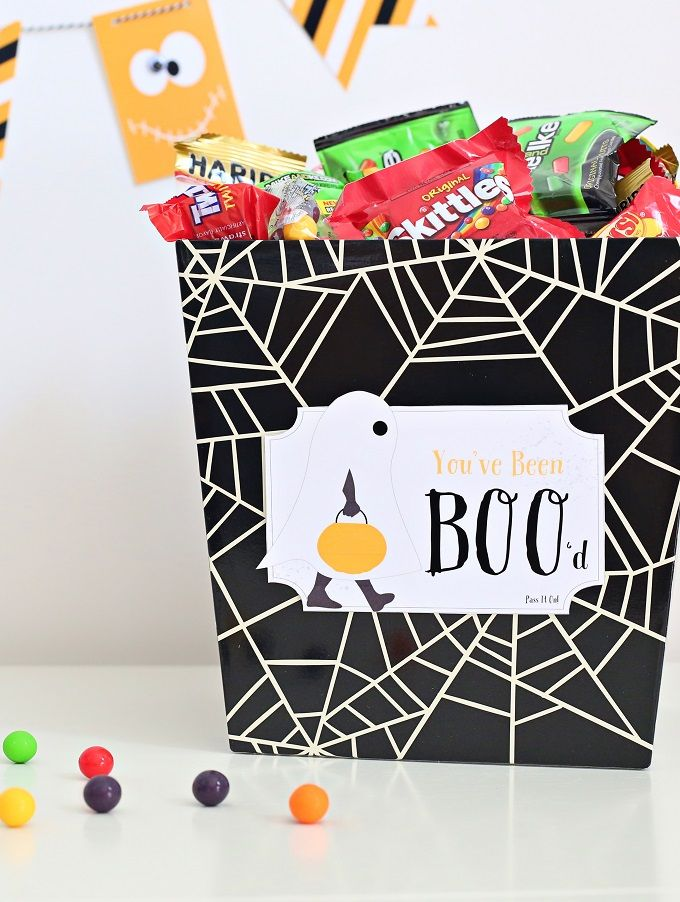 Get Your Boo On With A Halloween You\u0027ve Been Boo\u0027d Gift Tag - halloween party decorations diy