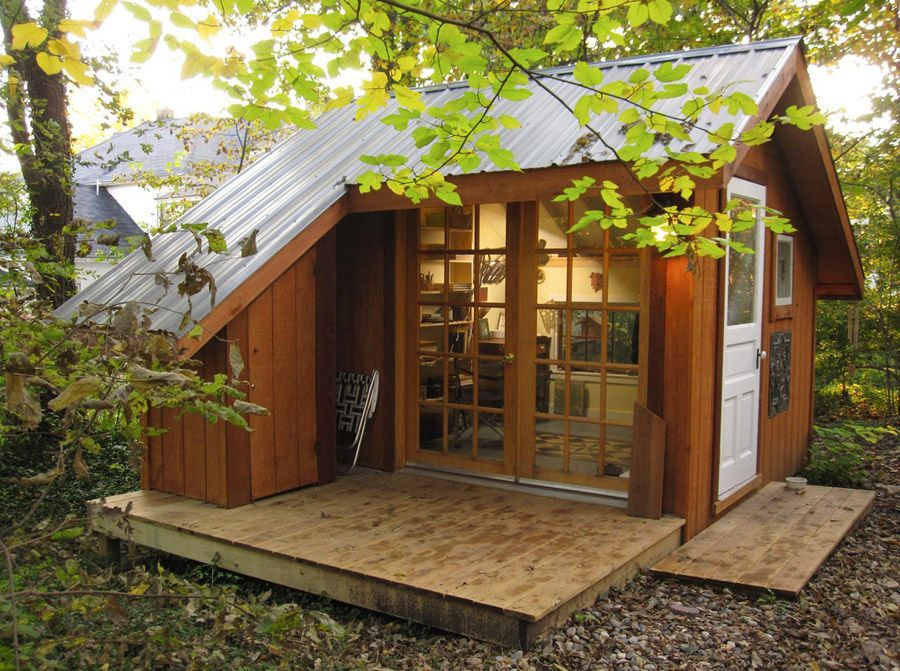Tiny House - A Backyard Sanctuary in Missouri | Backyard ...