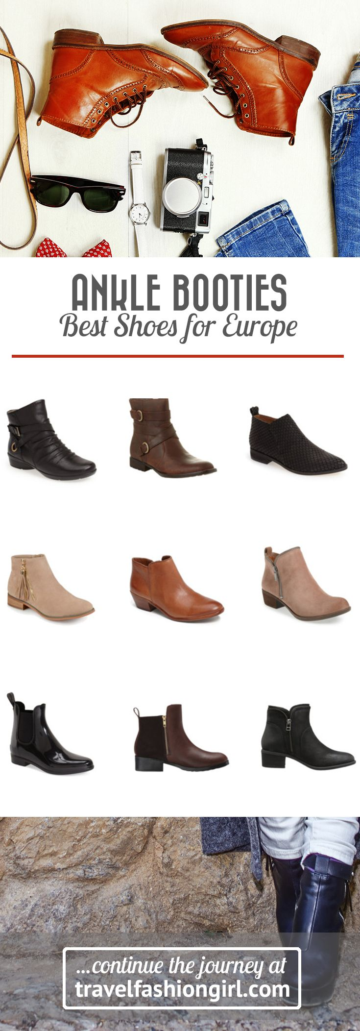 When A Reader Asked For The Best Shoes Travel To Europe In Spring Answer Was Clear Ankle Booties Want See Our Top 13 Picks