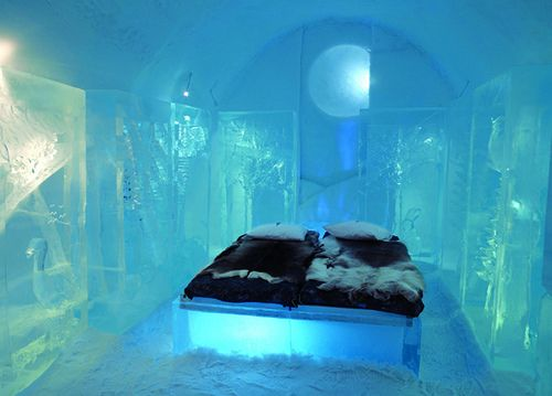 The Most Beautiful Bedrooms In The World a bedroom made of ice | sweden, honeymoon vacations and adventure