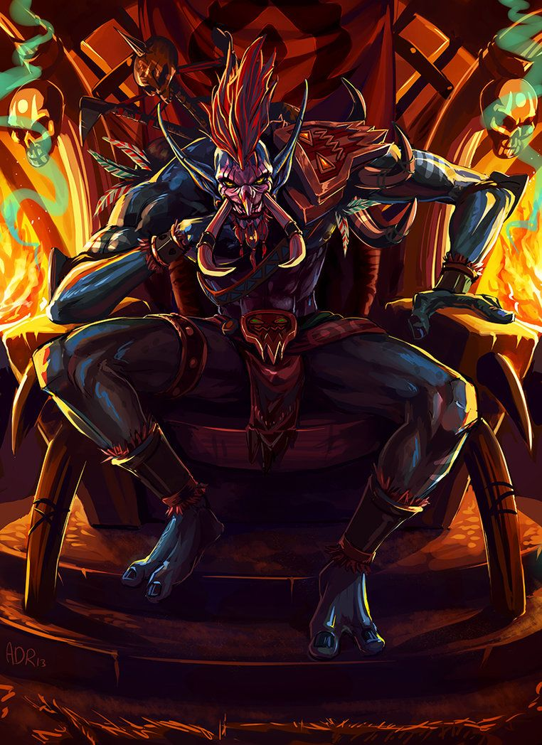 Warchief Voljin Hell Ya Mon Warcraft World Of Warcraft