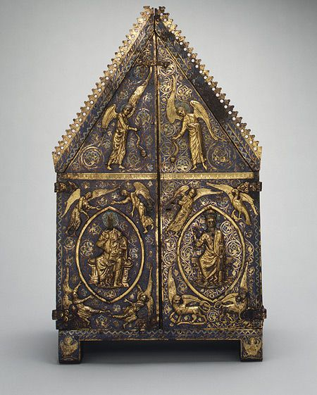Tabernacle of Cherves, Limoges, c. 1220 - 1230