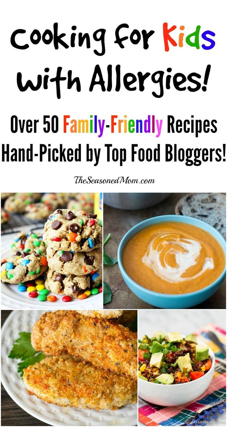 Cooking for kids with allergies over 50 hand picked recipes from food forumfinder Image collections