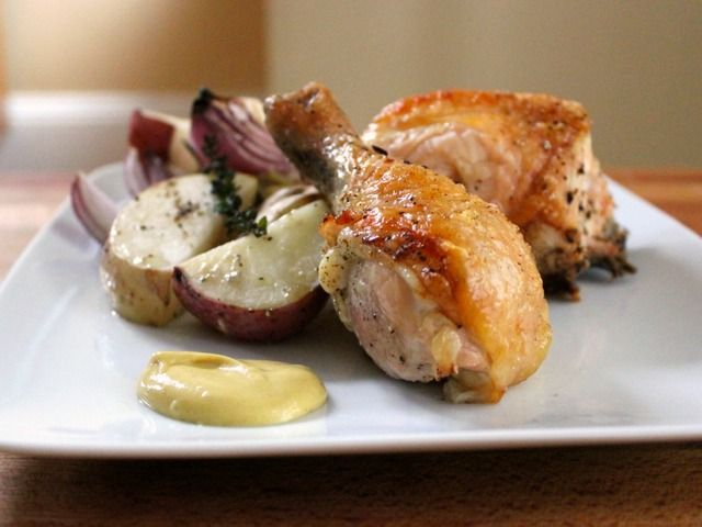 One-Pot Skillet-Roasted Chicken & Potatoes | Devour The Blog: Cooking Channel's Recipe and Food Blog