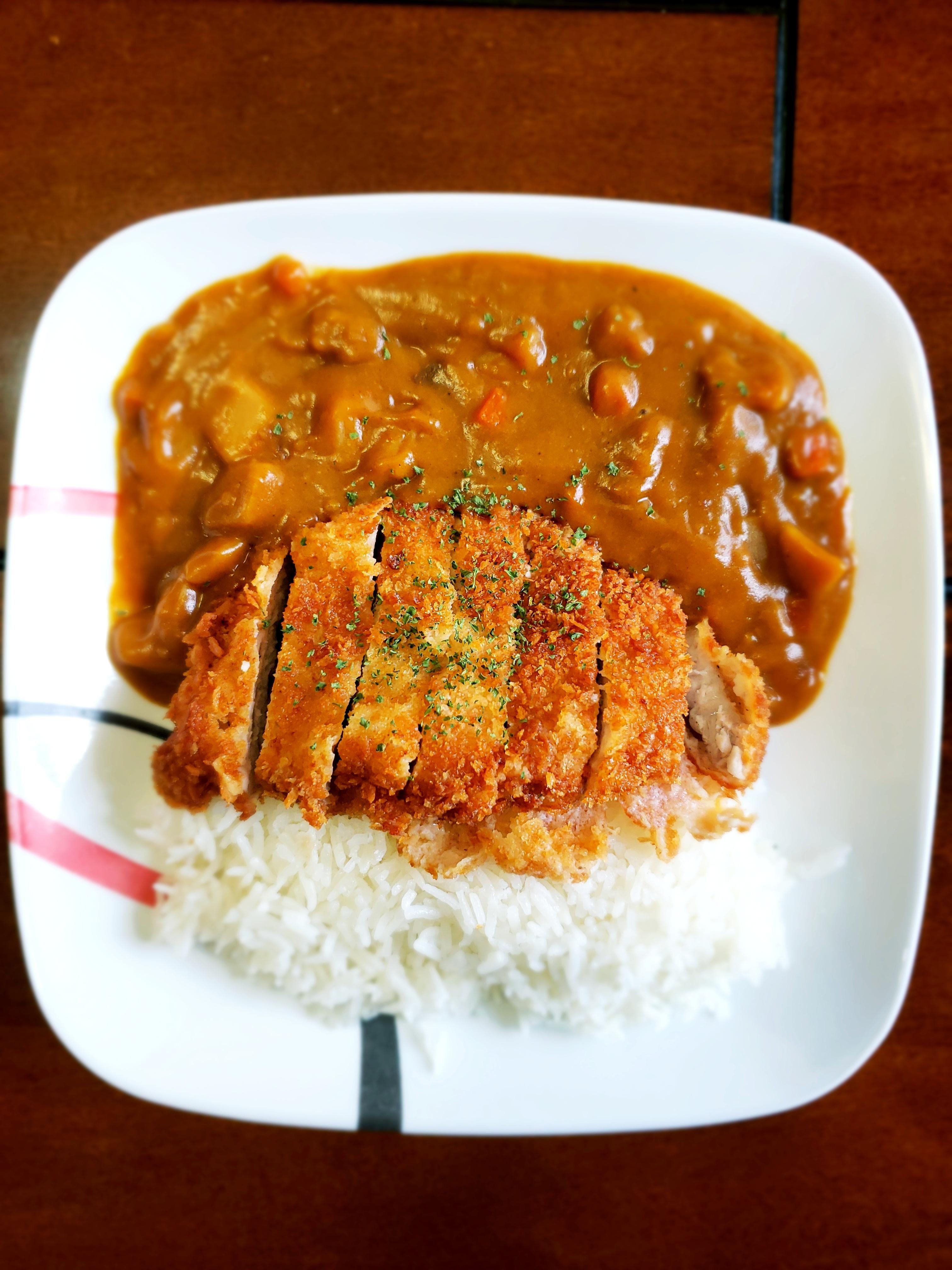 Homemade Katsu Kare Japanese Pork Cutlet Curry For Lunch In 2020 Pork Cutlet Recipes Pork Cutlets Food