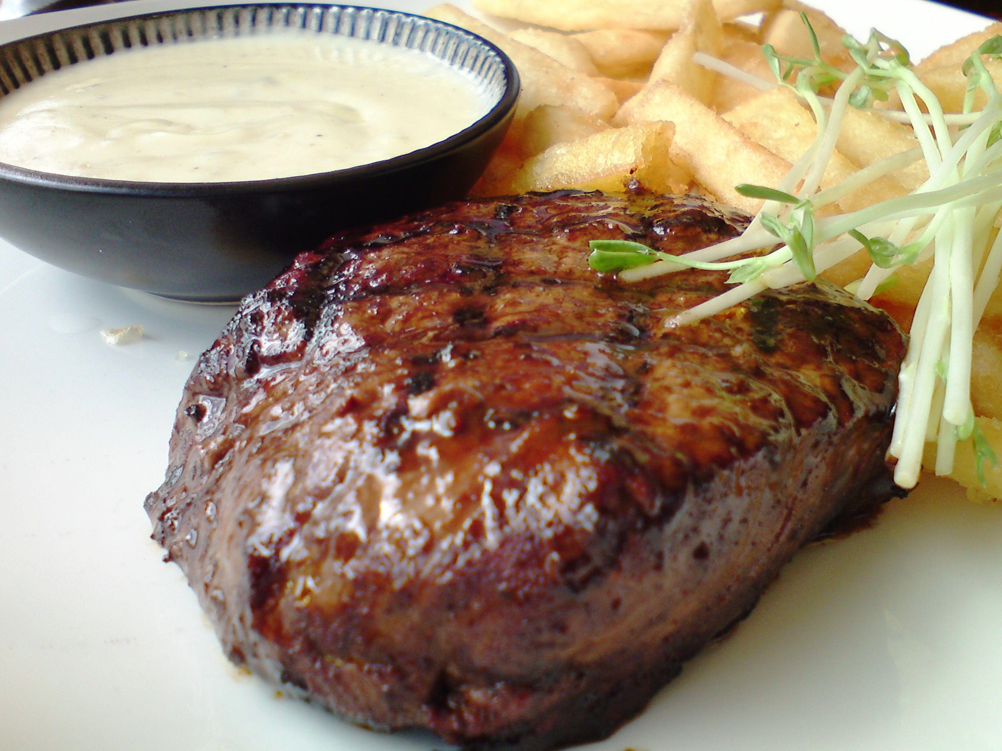 جربى استيك اللحمة بصوص البرتقال كنت تعرف دي Melbourne Food Food Blog Steak