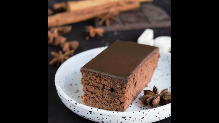 lebkuchenschnitten mit schokoladenganache mit bildern