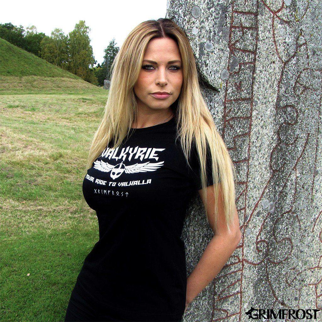 Women's Shirt, Valkyrie, Black Women, Colorful shirts, T