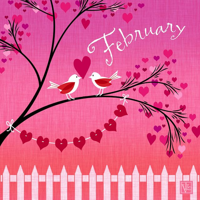 February is my bday month & valentines day <3<3<3 | Welcome february,  February valentines, February wallpaper