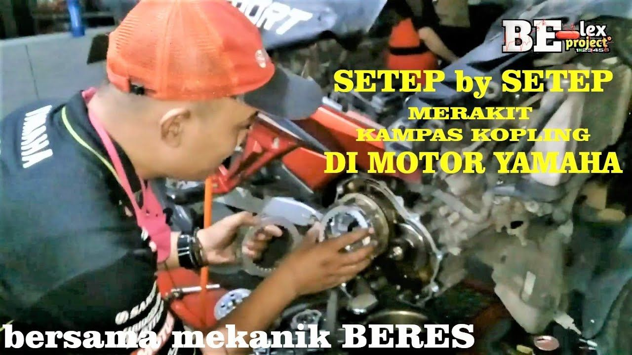 Merakit Kampas Kopling Manual Di Motor Yamaha Jupiter Mx Yamaha Vixion Yamaha R15 Yamaha Rx King Motor Yamaha Scorpio Youtube